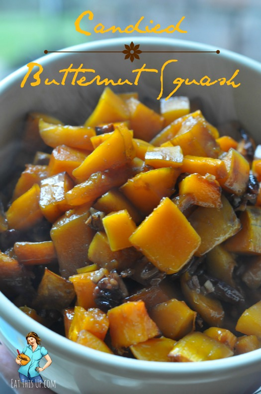 Candied Butternut Squash
