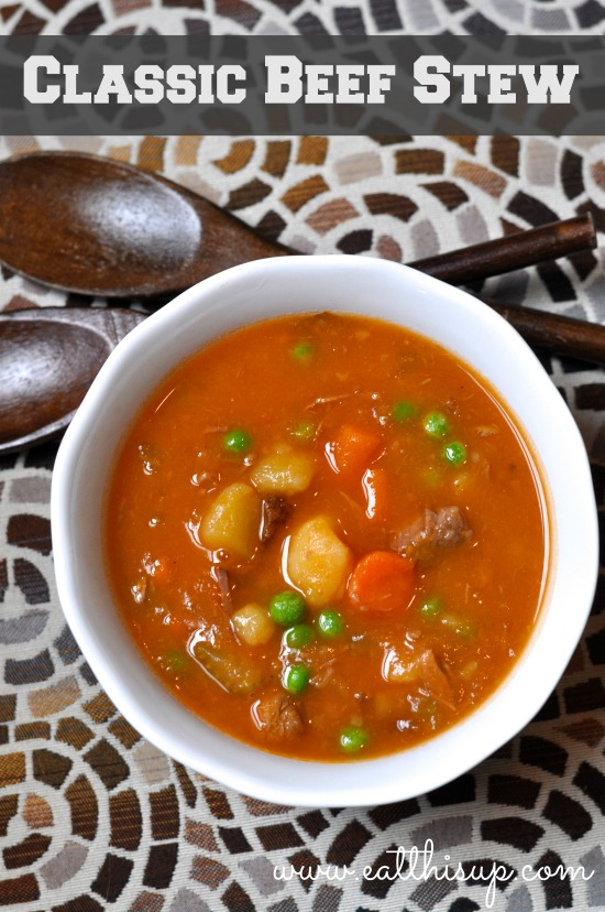 Classic Beef Stew with Ketchup