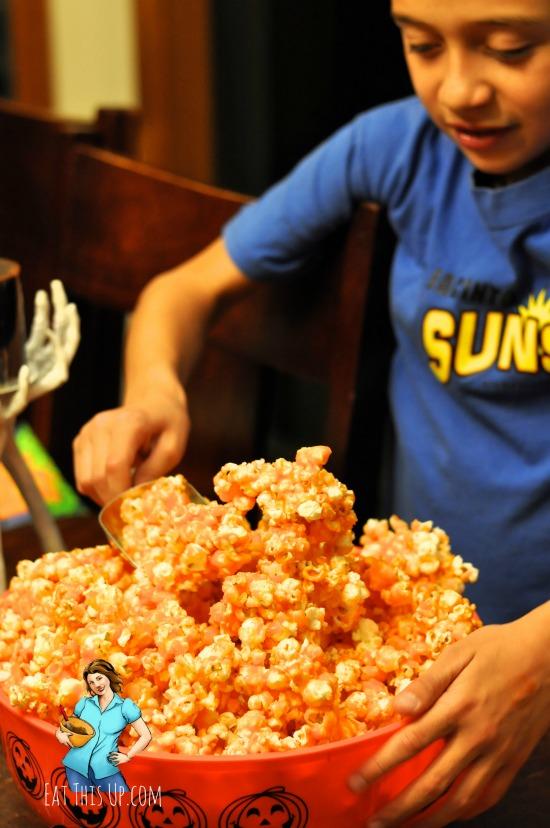 Jello Popcorn Recipe