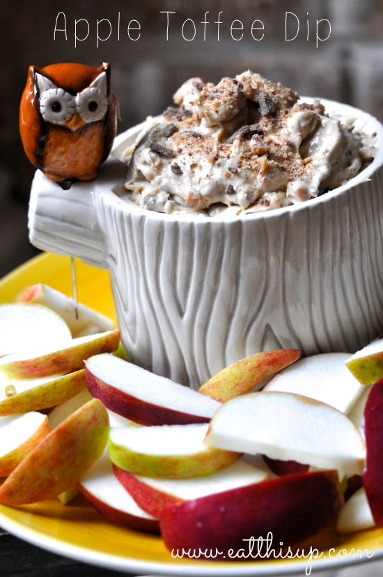 Apple Toffee Dip