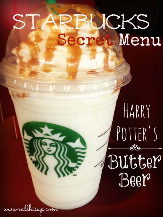 Starbucks Butterbeer Recipe Secret Starbucks Menu Item