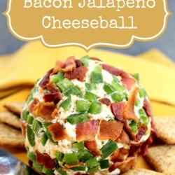 Bacon Jalapeño Cheeseball Recipe