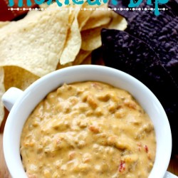 Crock Pot Mexican Cheese Dip
