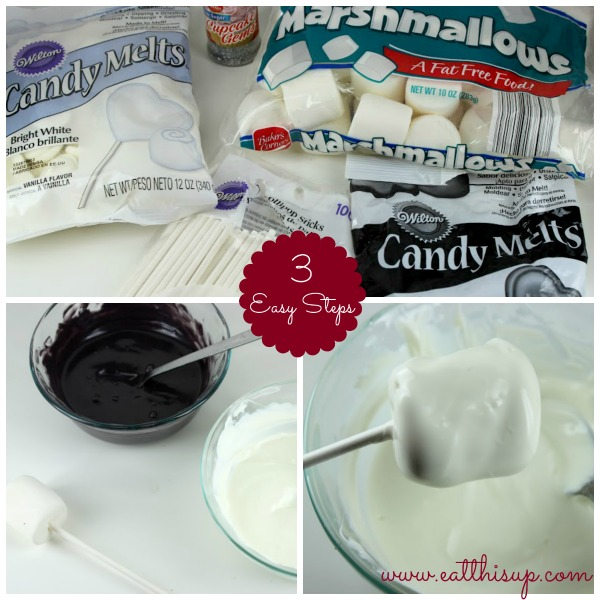 Marshmallow Pops 2 Ingredients