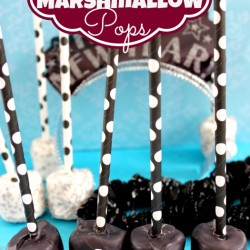 Marshmallow Pops New Years Treat