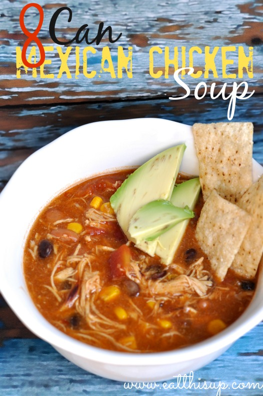 8 Can Mexican Chicken Soup
