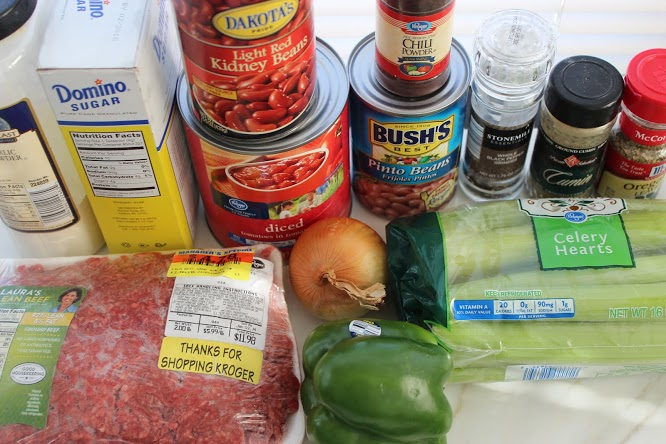 Copycat Wendy's Chili Recipe Ingredients