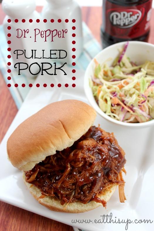 Dr. Pepper Pulled Pork