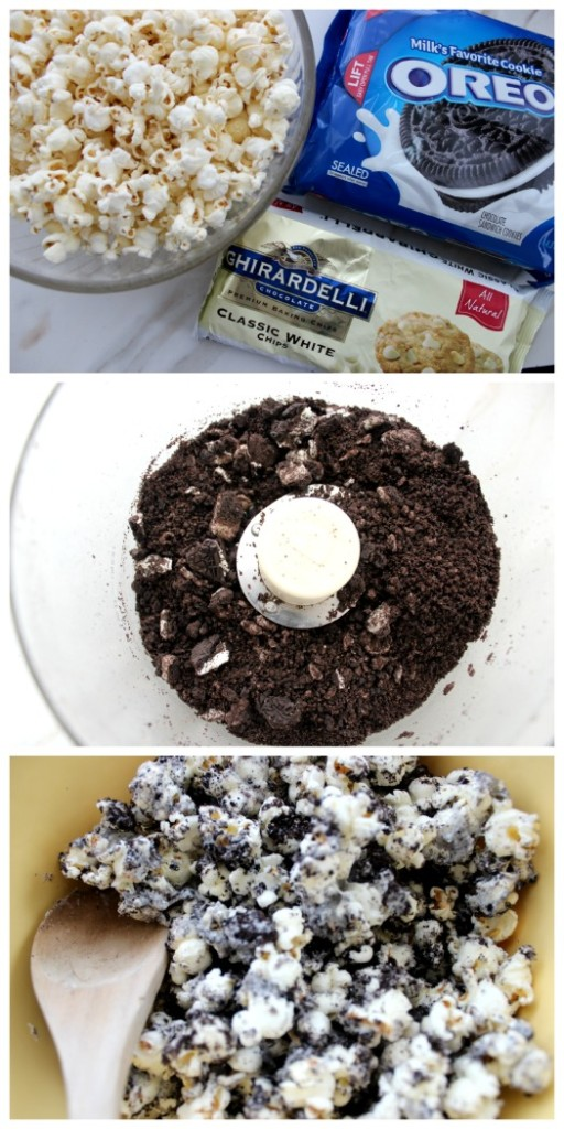 Oreo Popcorn Ingredients