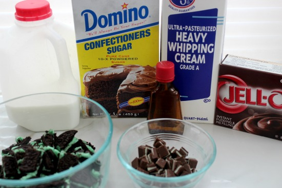 Oreo Trifle Ingredients