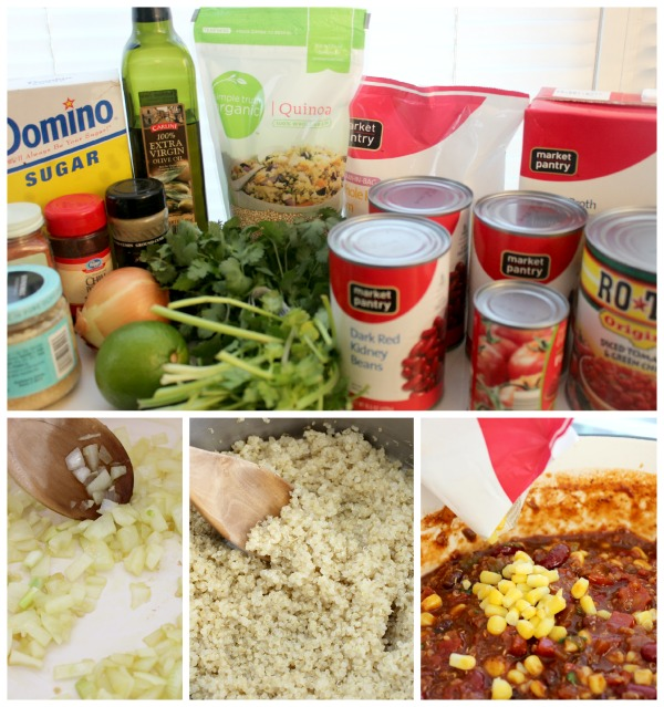 quinoa chili ingredients